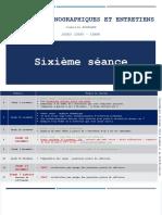 DIAPORAMA SEANCE 6 - Méthodes Ethno-Analyse Entretien