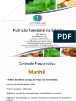 Curso - Nutrição e Estética - MANHÃ