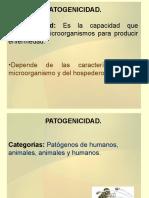 Nro 5. Patogenicidad
