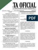 Gaceta Oficial N°42.165