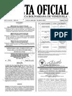 Gaceta Oficial N°42.163