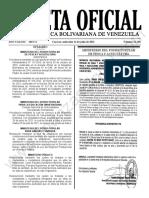 Gaceta Oficial N°42.168