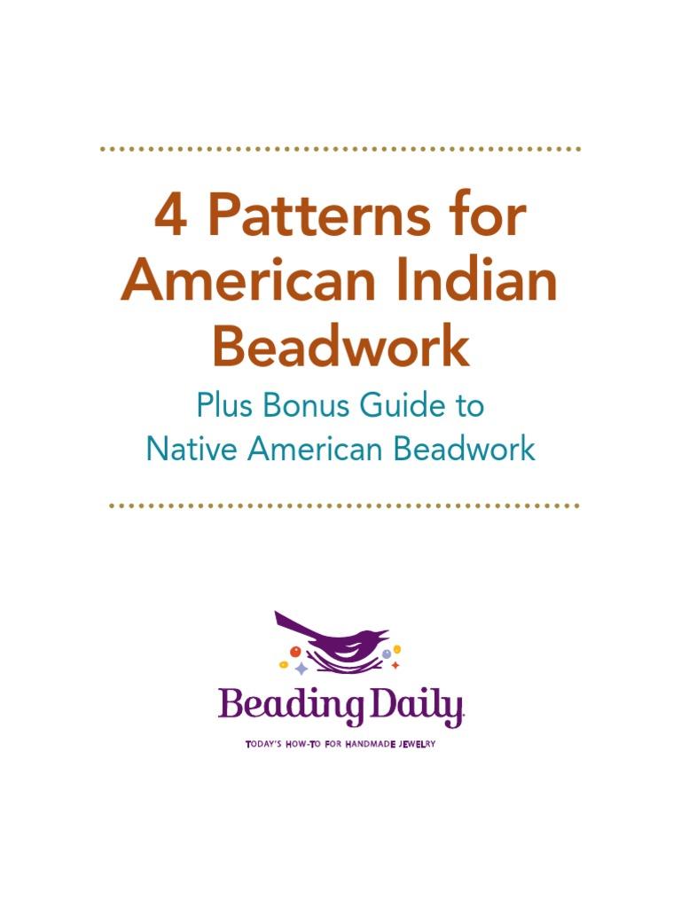 Native American Beadwork Ebook Beadwork Bead
