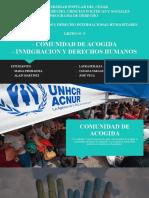 Exposicion Derechos humanos y derecho internacional humanitario