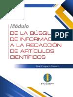 DE LA BÚSQUEDA DE INFORMACIÓN A LA REDACCIÓN DE ARTÍCULOS CIENTÍFICOS