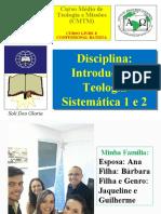 CMTM Introdução à Teologia Sistemática