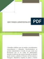 TEMA 14 RECURSOS LEY DE PDTO ADM