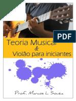 Apostila Teoria musical e Violão para iniciantes -