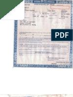 My Car Title + Dmv Envelope