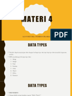 Data Types, Math, Constants