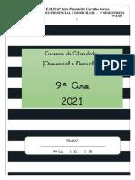 CADERNO DE ATIVIDADES PRESENCIAL  E DOMICILIAR- 9º ANO