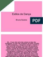 Estilos de Dança