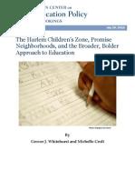 Brookings HCZ_Report0720_whitehurst