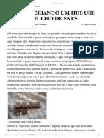 Blog Corporação Capsula - Saímos Do Com...Riando Um Hub Usb Com Cartucho de Snes