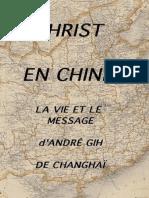 Andre Gih_Christ en Chine - EBOOK