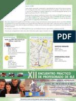 Programa XII Encuentro Práctico para Profesorado de ELE