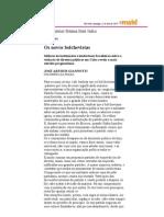 Gianotti, Jose Arthur, Os novos bolchevistas MAIS Folha de SP 11.04.2010 sobre o direito a oposicao