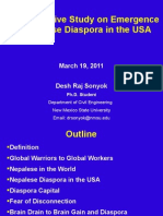 A Comparative Study on Emergence of Nepalese Diaspora in the USA