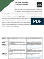 Propuesta de temario RECE-CDMX
