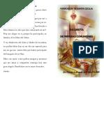 Misa Primeras Comuniones (Imprimir a Doble Cara Para Que Se Arme El Folleto)
