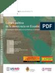 2010 Ecuador Country Report - Vanderbilt