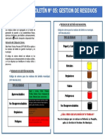 BOLETIN N 5 GESTION DE RESIDUOS