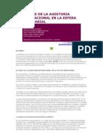 ALCANCE DE LA AUDITORIA INTERNACIONAL EN LA ESFERA EMPRESARI