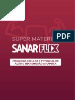 Sanarflix Bioquimica (AP) 03 Fisiologia Celular e Potencial de Ação e Transmissão Sináptica
