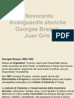 9 Cubismo Braque Gris