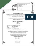 undangan KIRIM DOA 07