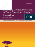 Enhancing Civilian Protection in Peace Operations