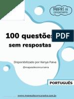 100 Questoes Sem Respostas