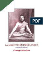 La Meditación Psicológica - Domingo Días