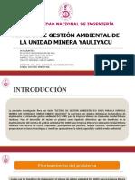 TRABAJO 3 - SISTEMA DE GESTIÓN AMBIENTAL