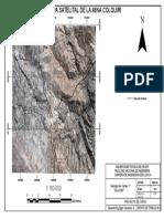 Mapa Satelital Yacimiento de Colquiri