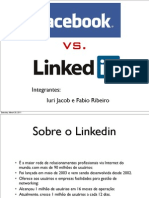 Facebook vs Linkedin