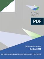 Relatório gerencial NCHB11