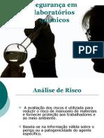 Segurança em laboratorios quimicos