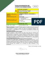 FICHA DE REGISTRO DE SOPORTE EMOCIONAL N° 7