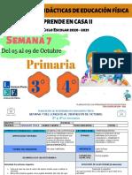 3°y 4° Primaria EF Semana 7- LEF Antonio Preza