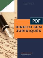 DIREITO SEM JURIDIQUÊS (GH - MAIO DE 2021)