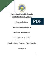 Universidad Central del Ecuador tarea dos
