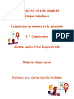 María Vilma Izquierdo Ulin_Capacitación_
