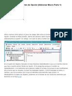Excel - Controles Activex Macro I