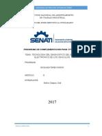 SENATI- PLANO DE FRENOS