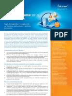 TrueImage2010_DataSheet.es