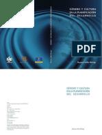 Genero Y Cultura en La Planificacion Del Desarrollo