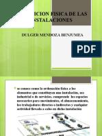 DISPOSICION FISICA DE LAS INSTALACIONES