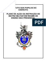 Plano de Ação da Instrução de Matriz Militar