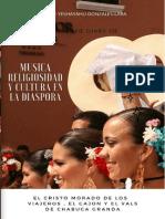 Chabuca Granda Legado Del Criollismo.religiosidad Música y Cultura en La Diaspora